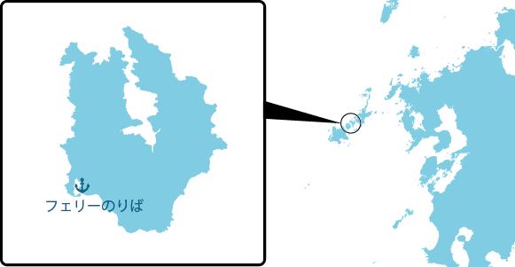 久賀島の概要図