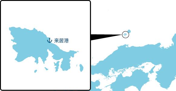 知夫里島の概要図