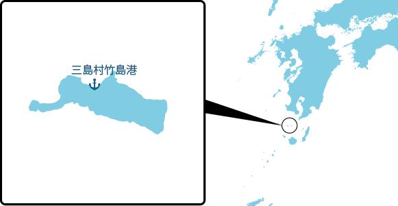 竹島の概要図