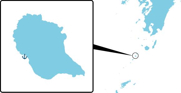 中之島の概要図