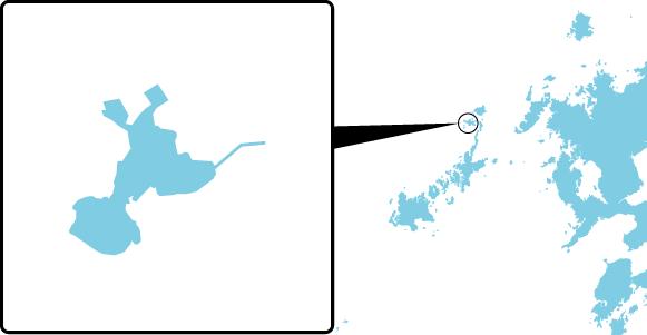 黒島の概要図