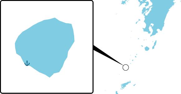 小宝島の概要図