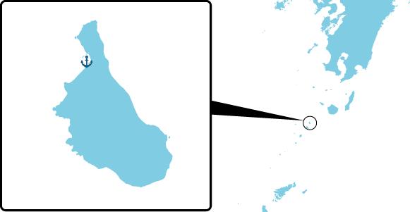 口之島の概要図
