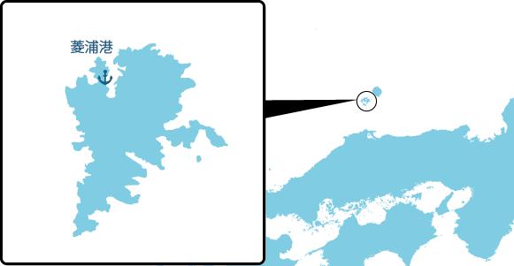中ノ島の概要図