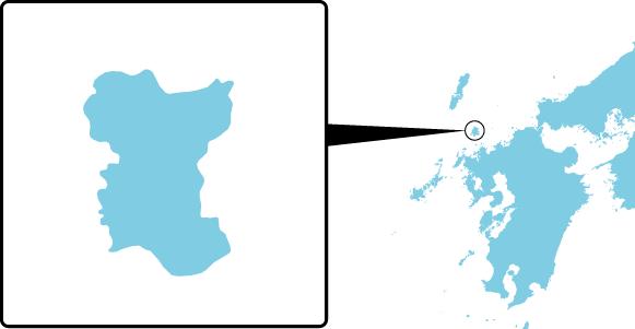 若宮島の概要図