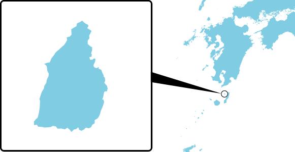馬毛島の概要図