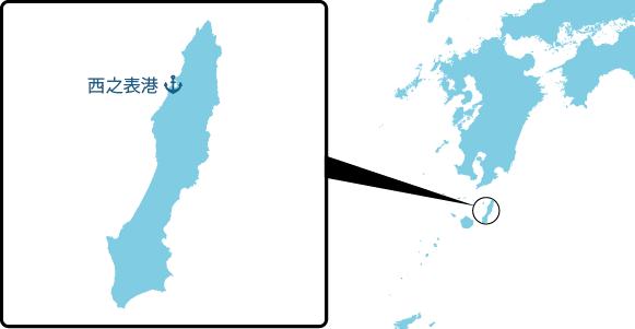 種子島の概要図
