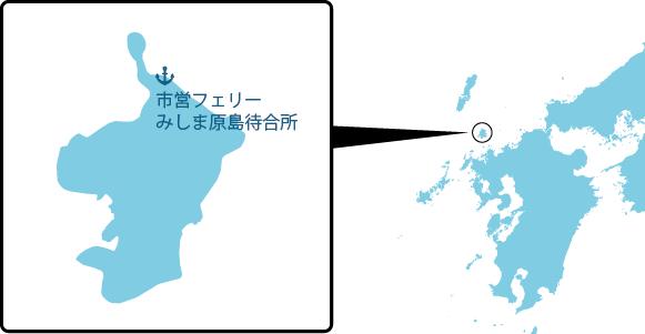 原島の概要図