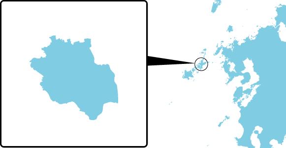 有福島の概要図