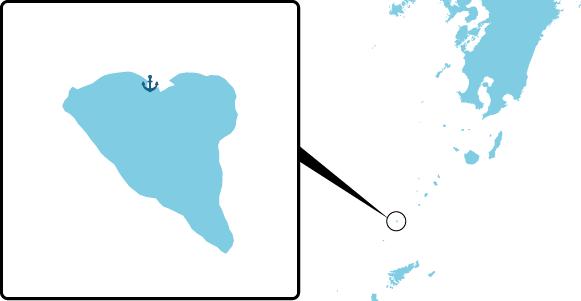 宝島の概要図