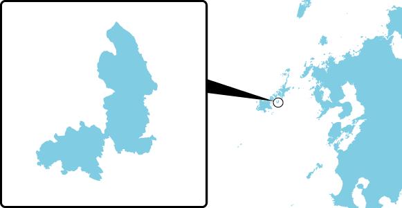 椛島の概要図