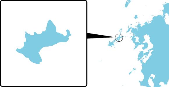 漁生浦島の概要図