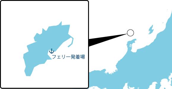 舳倉島の概要図