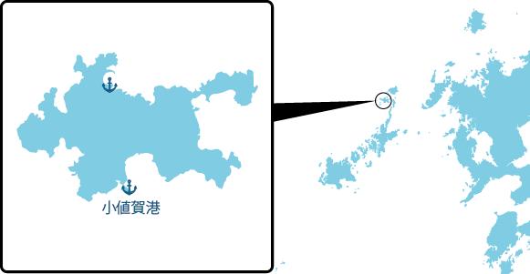 小値賀島の概要図