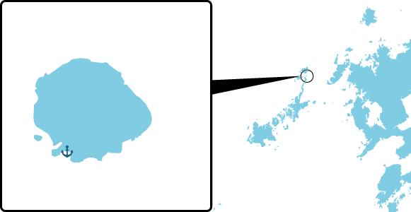 六島の概要図
