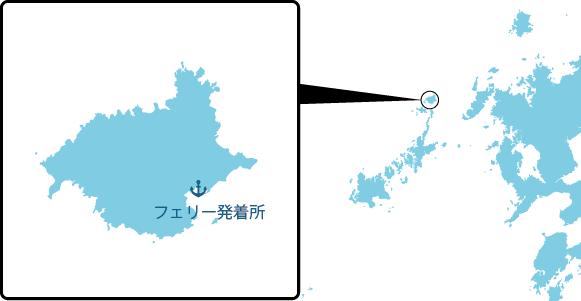 宇久島の概要図