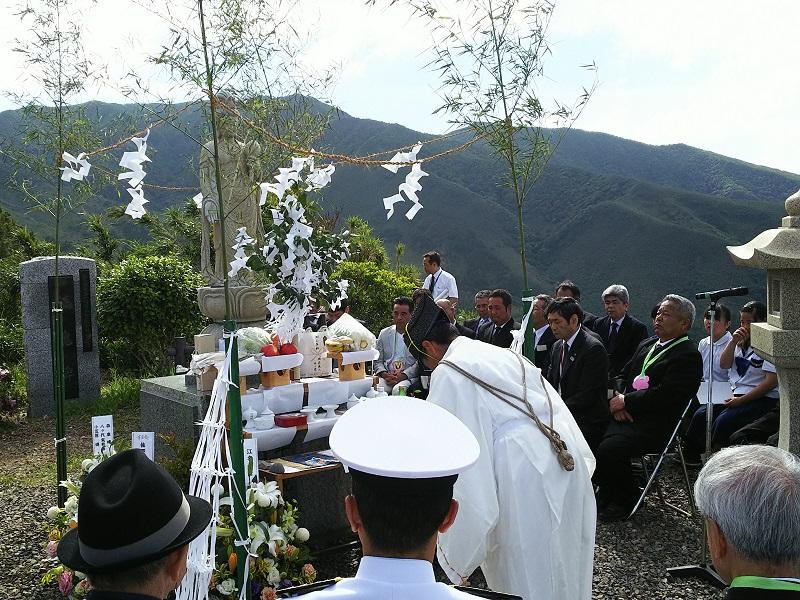 三島村特攻平和祈年祭