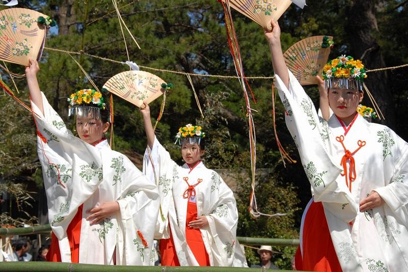 水若酢神社祭礼風流