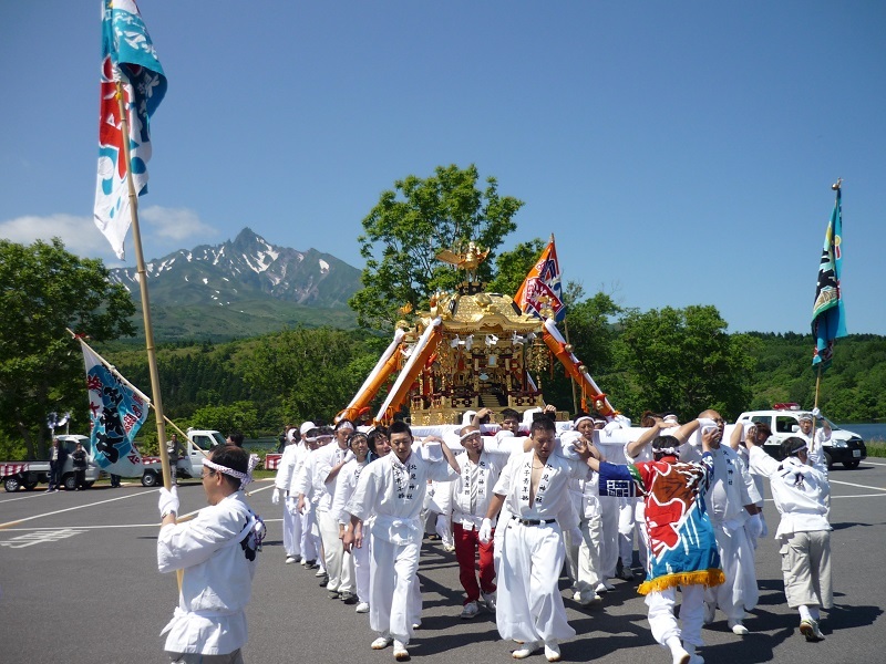 北見神社例大祭