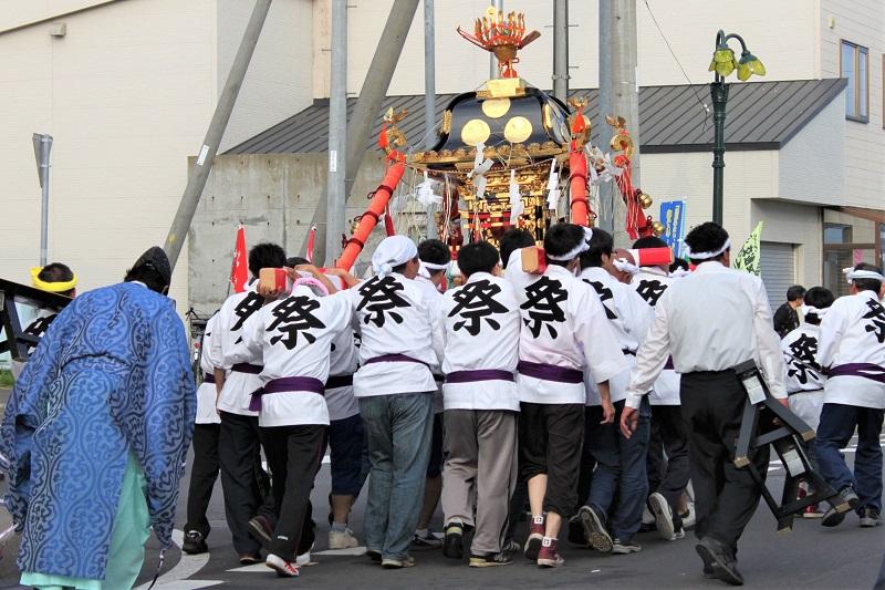 仙法志神社 例大祭